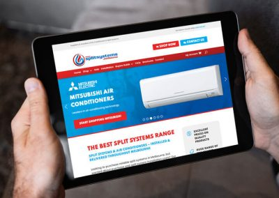 Air Conditioning Supplier Website