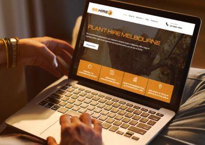 Equipment Hire Website