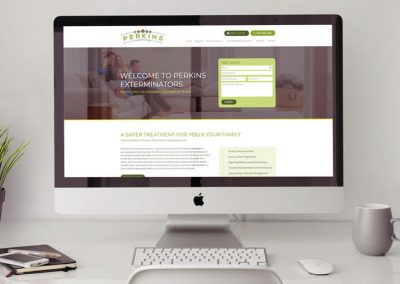 Termite Inspection and Treatment Website